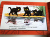 A három kiscica by Vlagyimir Szutyejev / Hungarian language Board book about three cats / Móra könyvkiadó 2016 (9789634155331)