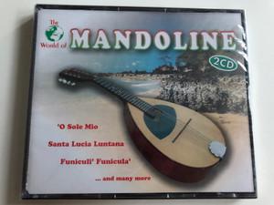 The World of Mandoline 2CD / O Sole Mio, Santa Lucia Luntana, Funiculi' Funicula' and many more / Zyx Music 11248-2 / Audio CD 2002 (090204941599)