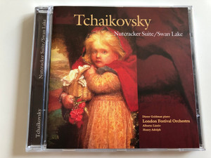 Tchaikovsky - Nutcracker Suite / Swan Lake / Dieter Goldman piano / London Festival Orchestra / Alberto Lizzio, Henry Adolph / Audio CD 1998 (5703976103021)