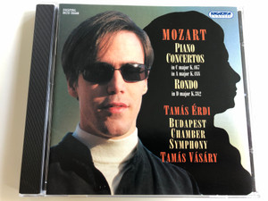Mozart - Piano Concertos in C major K.467, in A major K.488 / Rondo in D major K.382 / Tamás Érdi / Budapest Chamber Symphony / Conducted by Tamás Vásáry / Hungaroton Audio CD 2006 / HCD 32448 (5991813244826)