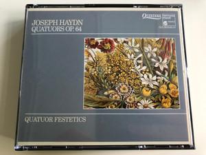 Joseph Haydn - Quatuors Op.64 / Quator Festetics on period instrument / Audio CD 1992 / Qui 903040.41 / 2 CD (3149025050533)