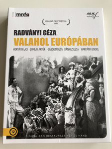 Valahol Európában DVD SET 1947 Somewhere in Europe / Directed by Radványi Géza / Starring: Artúr Somlay, Miklós Gábor / Extra Collector's edition / 2 DVD / Biography of Géza Radványi / Behind the scenes of restoring the film (5999887816154)
