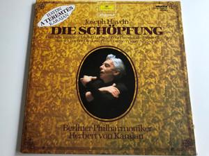 Joseph Haydn - Die Schöpfung / A teremtés / Conducted by Herbert von Karajan / Berliner Philharmoniker / Gundula Janowitz, Christa Ludwig, Fritz Wunderlich, Werner Krenn / Hungaroton SLPXL 31066-67 / 2x LP SET, Stereo (SLPXL31066-67)