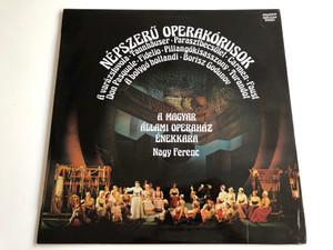 Népszerű Operakórusok / A varázsfuvola, Tannhäuser, Parasztbecsület, Carmen, Faust / Hungarian Stat Opera Chorus / Nagy Ferenc / Hungaroton / SLPX 12348, Stereo (SLPX 12348)