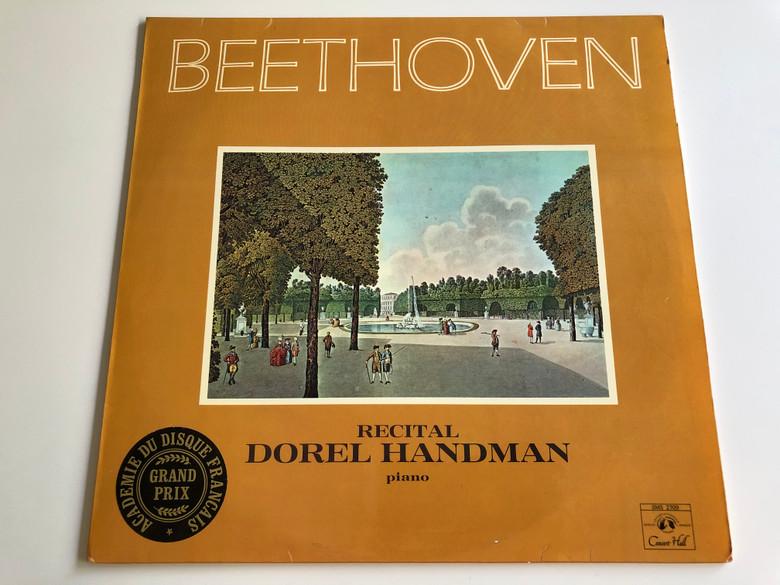 Beethoven recital / Dorel Handman, piano / Gravure Universelle / Synchro-Stereo / SMS 2709 (SMS2709)