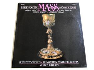 Beethoven Mass in C major Op. 86 / Mária Ardó, Jutta Bokor, János B. Nagy, László Polgár / Budapest Chorus, Hungarian State Orchestra / Conducted by Miklós Erdélyi / Hungaroton 1986 / SLPD 12783 / Digital - Stereo (SLPD12783)