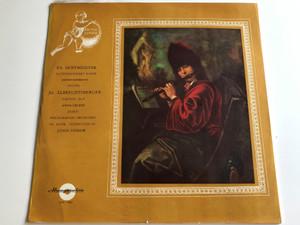 F.A Hoffmeister - Flötenkonzert D-Dur / János Szerényi (Flute) / J.G. Albrechtsberger - Partita in F / Anna Lelkes Harp / Hungaroton LPX 11454 / LP, Stereo-mono (LPX 11454)