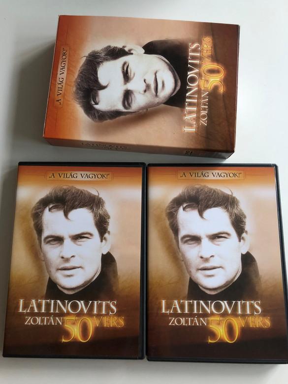 Latinovits Zoltán: 50 vers on 2 DVDs / Ötven vers – válogatás az MTV archívumából (5999883131428 )