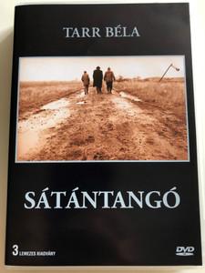 Sátántangó 1994 Satan's Tango 3 DVD SET / Directed by Béla Tarr / Starring: Mihály Víg, Putyi Horváth, László Lugossy / 3 lemezes kiadvány / Mokép Pannónia (5996357343592)