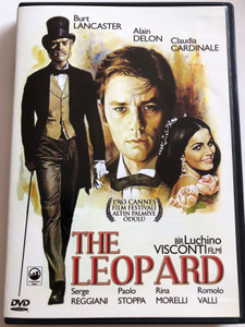 The Leopard DVD 1963 Il Gattopardo / Directed by Luchino Visconti / Starring: Burt Lancaster, Claudia Cardinale, Alain Delon, Serge Reggiani, Mario Girotti, Pierre Clementi / 2DVD Set (8698907202089)