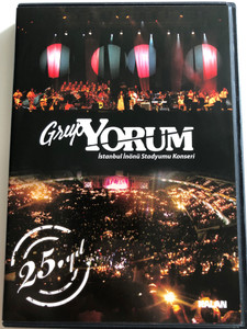 Grup Yorum / Istanbul Inönü Stadyumu Konseri DVD 2010 / 25. yil / 2 DVD Music Concert / Kalam Müzik (8691834009257)