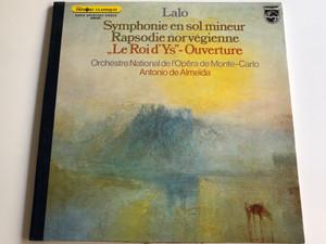 Lalo - Symphonie En Sol Mineur, Rapsodie Norvegienne, ''Le Roi d'Ys'' - Ouverture/ Orchestre National De l'Opera de Monte - Carlo / Conducted by Antonio De Almeida/ 6500 927