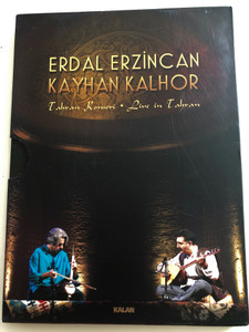 Erdal Erzincan - Kayhan Kalhor / Tahran Konseri - Live in Tahran DVD 2012 / Kalan Müzik / Live Concert recording (8691834009813)