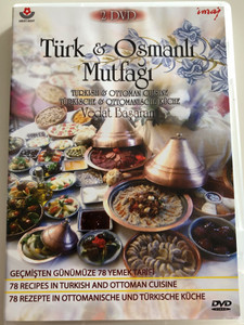 Türk & Osmanli Mutfagi - Turkish & Ottoman Cuisine 2x DVD 2010 / 78 Recipes in Turkish & Ottoman Cuisine / TUR-ENG-DEU (8694405022884)