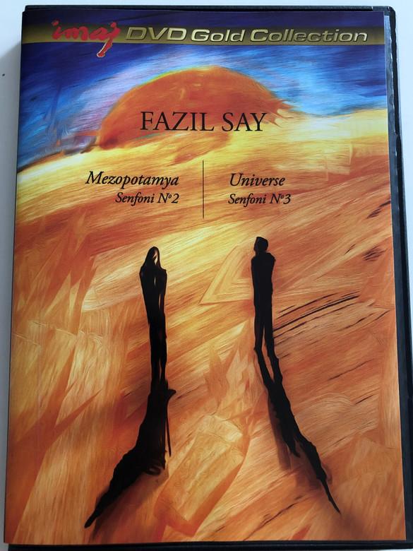 Fazil Say - Mezopotamya Senfoni No.2 - Universe Senfoni No. 3 / DVD 2013 / imaj (8697762826850)