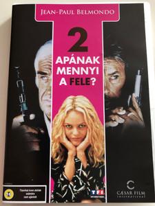 Une Chance Sur Deux DVD 1998 Két Apának mennyi a fele? / Directed by Patrice Leconte / Starring: Jean-Paul Belmondo, Alain Delon, Vanessa Paradis (5999554700021)