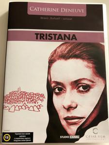 Tristana DVD 1970 / Directed by Luis Buñuel / Starring: Catherine Deneuve, Fernando Rey, Franco Nero, Lola Gaos / Bravo, Buñuel! sorozat (5999554701165)