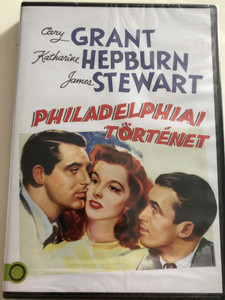 The Philadelphia Story DVD 1940 Philadelphiai történet / Directed by George Cukor / Starring: Cary Grant, Katharine Hepburn, James Stewart (5996514021035)