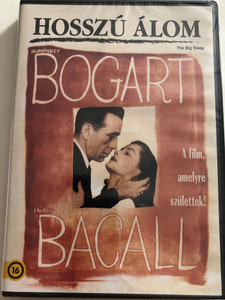 The Big Sleep DVD 1946 Hosszú álom / Directed by Howard Hawks / Starring: Humphrey Bogart, Lauren Bacall, Martha Vickers, Doroth Malone / Bogart Classic movie (5996514016482)