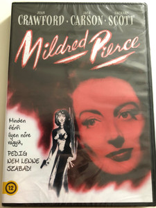 Mildred Pierce DVD 1945 / Directed by Michael Curtiz / Starring: Joan Crawford, Jack Carson, Zachary Scott / American film noir crime-drama (5996514021028)