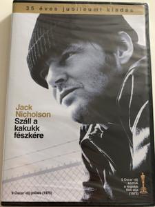 One Flew over the cuckoo's nest DVD 1975 Száll a kakukk fészkére / Directed by Miloš Forman / Starring: Jack Nicholson. Louise Fletcher, William Redfield / 35th Anniversary Edition (5996514004465)