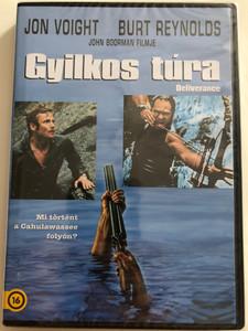 Deliverance DVD 1972 Gyilkos túra / Mi történt a Cahulawssee folyón? / Directed by John Boorman / Starring: Jon Voight, Burt Reynolds, Ned Beatty, Ronny Cox (5996514021837)