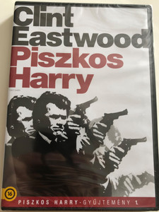 Dirty Harry Collection Vol . 1 DVD 1971 Piszkos Harry Gyűjtemény 1. / Directed by Don Siegel / Starring: Clint Eastwood, Harry Guardino, Reni Santoni, Andy Robinson (5996514006827)