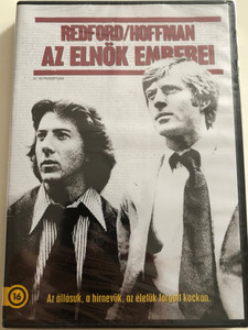 All the President's men DVD 1976 Az Elnök emberei / Directed by Alan J. Pakula / Starring: Robert Redford, Dustin Hoffman, Jack Warden (5996514006858)