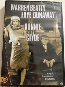 Bonnie & Clyde DVD 1967 Bonnie és Clyde / Fiatalok. Szerelmesek. Gyilkosok / Directed by Arthur Penn / Starring: Warren Beatty, Faye Dunaway, Michael J. Pollard, Gene Hackman, Estelle Parsons (5996514021004)