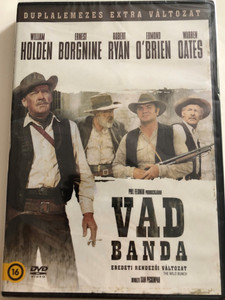 The Wild Bunch DVD 1969 Vad Banda / Duplalemezes Extra Változat / Directed by Sam Peckinpah / Starring: William Holdren, Ernest Borgnine, Robert Ryan, Edmond O'Brien, Warren Oates / 2 disc special edition / Original Director's Cut (5996514021059)