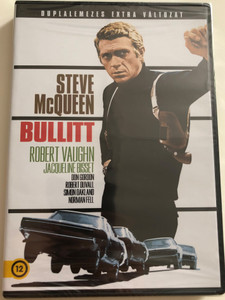 Bullitt DVD 1968 / Directed by Peter Yates / Starring: Steve McQueen, Robert Vaughn, Jacqueline Bisset, Don Gordon, Robert Duvall (5996514016338)