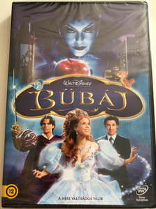 Enchanted DVD 2007 Bűbáj / Directed by Kevin Lima / Starring: Amy Adams, Patrick Dempsey, James Marsden, Timothy Spall, Idina Menzel, Susan Sarandon (5996514012910)