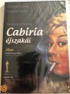 Nights of Cabiria DVD 1957 Cabiria Éjszakái (Le notti di Cabiria) / Directed by Federico Fellini / Starring Giulietta Masina, François Périer, Franca Marzi, Dorian Gray, Amedeo Nazzari (5996473011986)
