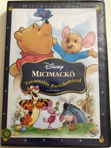 Winnie the Pooh - Springtime with Roo DVD 2004 Micimackó - Tavaszolás Zsebibabával / Disney animated musical comedy (5996514012750)