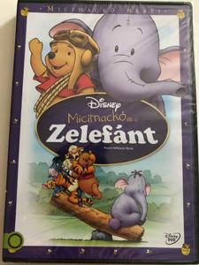 Winnie the Pooh - Pooh's Heffalump Movie DVD 2005 Micimackó és a Zelefánt / Directed by Frank Nissen / Starring: Jim Cummings, John Fiedler, Kath Soucie, Nikita Hopkins, Ken Sansom, Peter Cullen, Kyle Stanger, Brenda Blethyn (5996514012859)