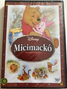 Many Adventures of Winnie the Pooh DVD 1977 Micimackó / Directed by John Lounsbery, Wolfgang Reitherman / Starring: Sterling Holloway, John Fiedler, Junius Matthews, Paul Winchell, Howard Morris, Bruce Reitherman, Jon Walmsley, Timothy Turner (5996514012828)