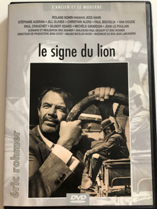 Le signe du lion DVD 1962 The Sign of Leo / Directed by Éric Rohmer / Starring: Jess Hahn, Jean Le Poulain, Van Doude / B&W French Classic (3530941020784)