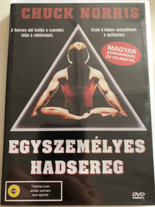 A Force of One DVD 1979 Egyszemélyes hadsereg / Directed by Paul Aaron / Starring: Chuck Norris, Jennifer O'neill, James Whitmore, Pepe Serna (5999553600728)