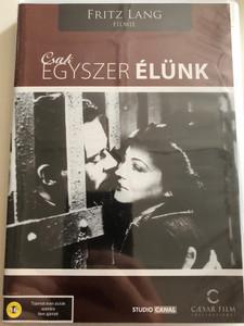 You only live once DVD 1937 Csak egyszer élünk / Directed by Fritz Lang / Starring: Sylvia Sidney, Henry Fonda, Barton MacLane / American Film Noir (5999554701172)