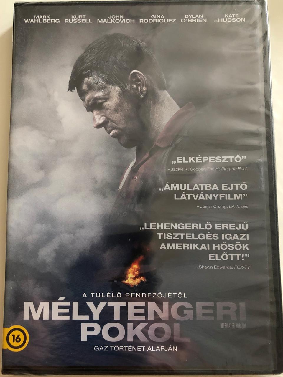 Deepwater Horizon DVD 2016 Mélytengeri Pokol / Based on a true story /  Directed by Peter Berg / Starring: Mark Wahlberd, Kurt Russel, John  Malkovich,