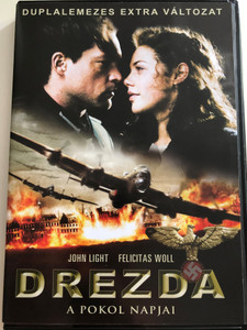 Dresden DVD 2007 Drezda - A Pokol Napjai / Directed by Roland Suso Richter / Starring: John Light, Felicitas Woll, Benjamin Sadler / 2 Disc special edition (5999546332070)
