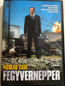 Lord of War DVD 2005 Fegyvernepper / Directed by Andrew Niccol / Starring: Nicolas Cage, Jared Leto, Bridget Moynahan, Ian Holm (5999048911971)