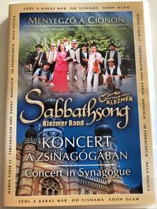 Sabbathsong Klezmer band - Menyegző a Cionon DVD 2004 / Chatuan al Har Tzion - Wedding on Mount Zion / Concert in Synagogue / Több mint klezmer / Concert video (5999880470612)