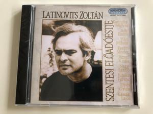 Latinovits Zoltán Szentesi Előadóestje / Karinthy, Ady, Váci, Petőfi, József Attila, Illyés Gyula, Kassák / Hungaroton Classic Audio CD 1988, 2001 / HCD 14065 (5991811406523)
