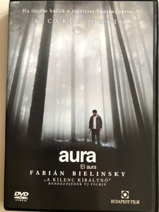 El aura DVD 2005 Aura - The Aura / Directed by Fabián Bielinsky / Starring: Ricardo Darín, Dolores Fonzi, Alejandro Awada, Pablo Cedrón, Jorge D'Elia (5999544250277)