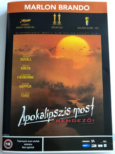 Apocalypse Now - Redux DVD 2001 Apokalipszis most - Rendezői változat / Directed by Francis Ford Coppola / Starring: Marlon Brando, Robert Duvall, Martin Sheen, Laurence Fishburne, Dennis Hopper, Harrison Ford (5998133189905.)