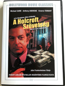 The Holcroft Covenant DVD 1985 A Holcroft szövetség / Directed by John Frankenheimer / Starring: Michael Caine, Anthony Andrews, Victoria Tennant (5999546333312)