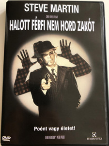 Dead men don't wear plaid DVD 1982 Halott férfi nem hord zakót / Directed by Carl Reiner / Starring: Steve Martin, Rachel Ward, Reni Santoni, Carl Reiner (5999544253766)