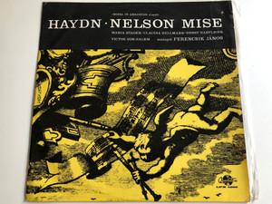 Haydn - Nelson Mise / Missa In Angustiis D-Moll / Maria Stader, Claudia Hellmann, Ernst Haefliger, Victor Von Halem / Vezenyel: Ferencsik Janos / QUALITON LP / LPX 1266