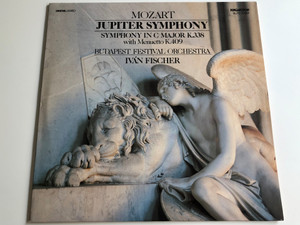 Mozart - Jupiter Symphony / Symphony In C Major K.338 With Menuetto K.409 / Budapest Festival Orchestra / Ivan Fischer / HUNGAROTON LP DIGITAL STEREO / SLPD 12982